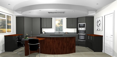 Contemporary Bespoke Kitchen Case Studies